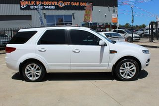 2014 Ford Territory SZ TS (RWD) White 6 Speed Automatic Wagon