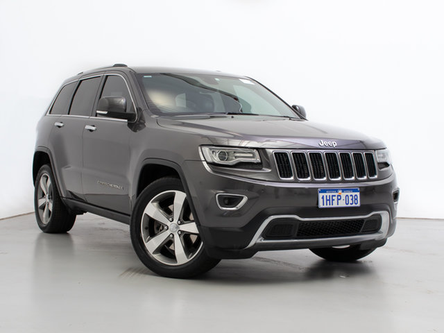 Used Jeep Grand Cherokee WK MY14 Limited (4x4), 2013 Jeep Grand Cherokee WK MY14 Limited (4x4) Grey 8 Speed Automatic Wagon