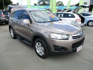 2013 Holden Captiva SX AWD Brown 4 Speed Automatic Wagon.