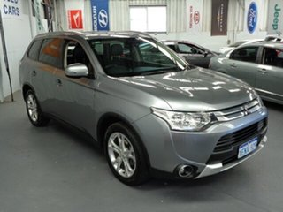 2014 Mitsubishi Outlander ZJ MY14.5 LS 2WD Grey 6 Speed Constant Variable Wagon.