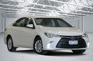 2015 Toyota Camry ASV50R MY15 Altise White 6 Speed Automatic Sedan.