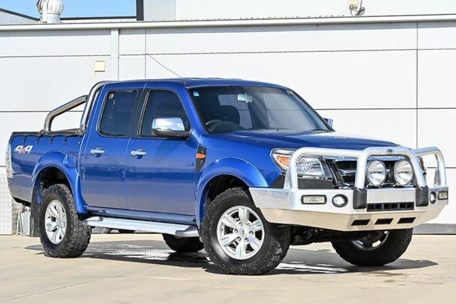 Used Ford Ranger PK XLT Crew Cab Pakenham, 2011 Ford Ranger PK XLT Crew Cab Blue 5 Speed Manual Utility