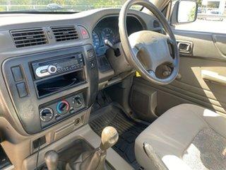 1999 Nissan Patrol GU DX (4x4) White 5 Speed Manual 4x4 Leaf Cab Chassis