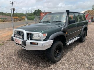 1998 Nissan Patrol ST Green 4 Speed Auto Active Select Wagon.