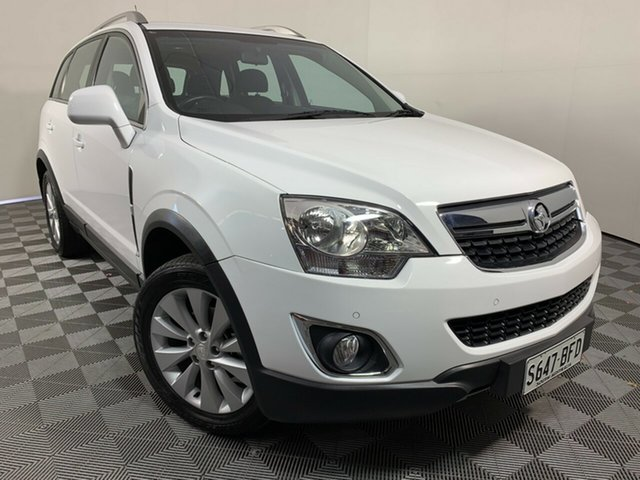 Used Holden Captiva CG MY15 5 LT Wayville, 2014 Holden Captiva CG MY15 5 LT White 6 Speed Manual Wagon