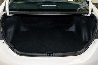 Toyota Corolla Glacier White Sedan