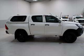 2017 Toyota Hilux GUN125R Workmate Double Cab 6 Speed Sports Automatic Utility