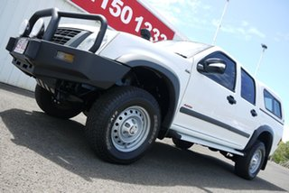 2008 Holden Rodeo RA MY08 LX Crew Cab 60th Anniversary White 5 Speed Manual Utility.