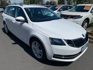 2018 Skoda Octavia NE MY18.5 110TSI DSG White 7 Speed Sports Automatic Dual Clutch Wagon