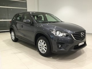 2016 Mazda CX-5 KE1072 Maxx SKYACTIV-Drive Sport Grey 6 Speed Sports Automatic Wagon.