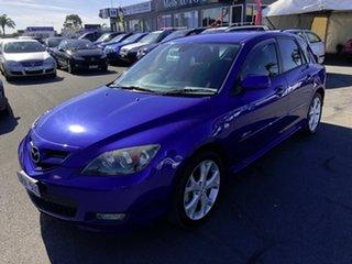 2006 Mazda 3 BK SP23 Blue 5 Speed Manual Hatchback.