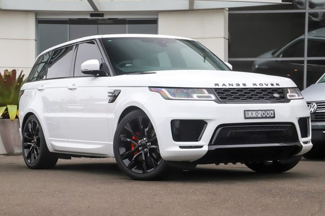 Used Land Rover Range Rover Sport L494 18MY SE Sutherland, 2018 Land Rover Range Rover Sport L494 18MY SE White 8 Speed Sports Automatic Wagon