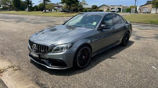 2020 Mercedes-Benz C-Class W205 801MY C63 AMG SPEEDSHIFT MCT S Selenite Grey 9 Speed.