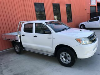 2008 Toyota Hilux KUN26R MY08 SR White 4 Speed Automatic Utility