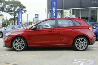 2020 Hyundai i30 PD.V4 MY21 N Line D-CT Firey Red 7 Speed Sports Automatic Dual Clutch Hatchback