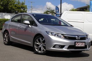 2012 Honda Civic 9th Gen Sport Silver 5 Speed Sports Automatic Sedan.