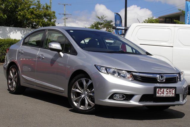 Used Honda Civic 9th Gen Sport Mount Gravatt, 2012 Honda Civic 9th Gen Sport Silver 5 Speed Sports Automatic Sedan