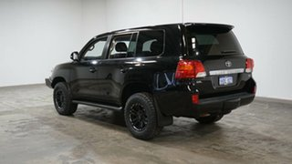 2015 Toyota Landcruiser VDJ200R MY13 GXL Black 6 Speed Sports Automatic Wagon.