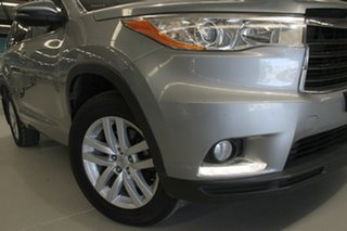 2015 Toyota Kluger GSU55R GX (4x4) Silver Sky 6 Speed Automatic Wagon.