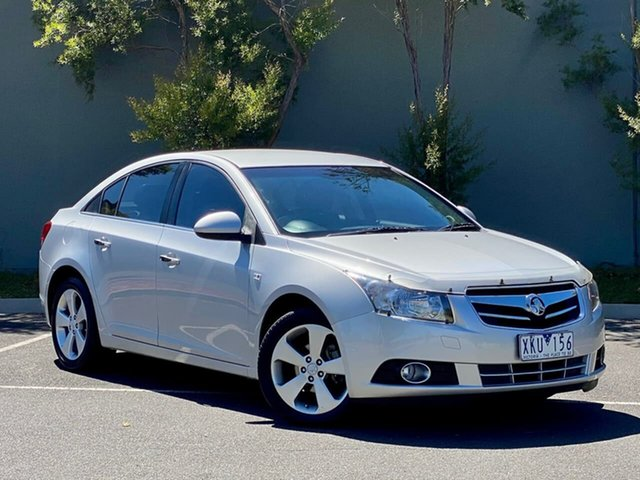 Used Holden Cruze JG CDX Templestowe, 2010 Holden Cruze JG CDX Silver 5 Speed Manual Sedan