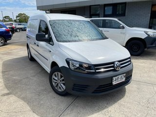 2018 Volkswagen Caddy 2KN MY19 TDI250 Maxi DSG White 6 Speed Sports Automatic Dual Clutch Van