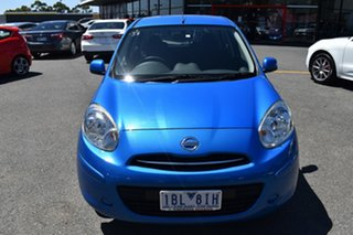 2012 Nissan Micra K13 ST-L Blue 4 Speed Automatic Hatchback