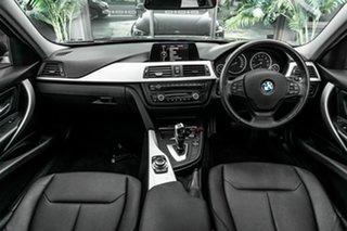 2013 BMW 3 Series F30 MY0413 316i Blue 8 Speed Automatic Sedan