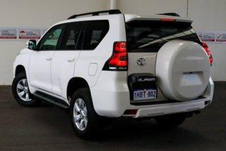 2018 Toyota Landcruiser Prado GDJ150R GXL Glacier White 6 Speed Sports Automatic Wagon.