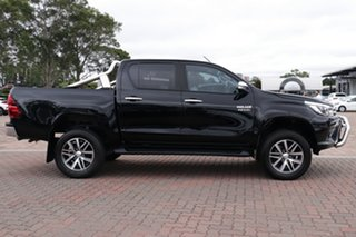 2016 Toyota Hilux GUN126R SR5 Double Cab Black 6 Speed Sports Automatic Utility