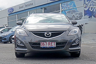 2010 Mazda 6 GH1052 MY10 Touring Grey 5 Speed Sports Automatic Wagon.