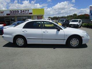 2004 Mitsubishi Magna TW ES White 4 Speed Sports Automatic Sedan