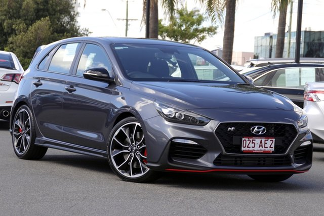 Pre-Owned Hyundai i30 PDe.2 MY19 N Performance Upper Mount Gravatt, 2018 Hyundai i30 PDe.2 MY19 N Performance Grey 6 Speed Manual Hatchback