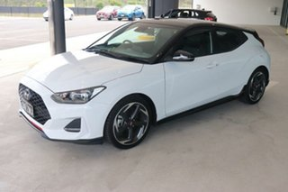 2019 Hyundai Veloster JS MY20 Turbo Coupe D-CT 7 Speed Sports Automatic Dual Clutch Hatchback.