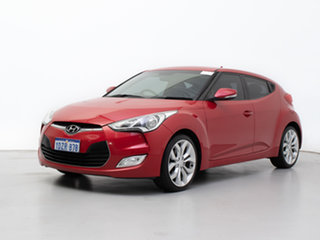 2012 Hyundai Veloster FS Red 6 Speed Manual Coupe.