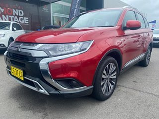 2018 Mitsubishi Outlander ZL MY18.5 ES AWD Burgundy 6 Speed Constant Variable Wagon.
