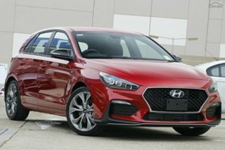 2020 Hyundai i30 PD.V4 MY21 N Line D-CT Firey Red 7 Speed Sports Automatic Dual Clutch Hatchback.