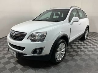 2014 Holden Captiva CG MY15 5 LT White 6 Speed Manual Wagon.