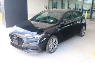 2020 Hyundai i30 PD.V4 MY21 N Line Premium Phantom Black 6 Speed Manual Hatchback.
