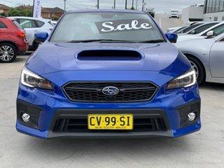 2018 Subaru WRX V1 MY19 Premium Lineartronic AWD Blue 8 Speed Constant Variable Sedan