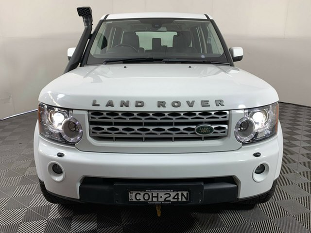 Used Land Rover Discovery 4 Series 4 L319 MY13 TDV6 Wayville, 2013 Land Rover Discovery 4 Series 4 L319 MY13 TDV6 White 8 Speed Sports Automatic Wagon