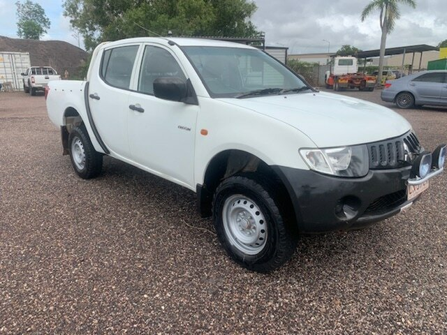 Used Mitsubishi Triton GXL Pinelands, 2008 Mitsubishi Triton GXL White 5 Speed Manual Dual Cab
