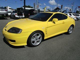 2006 Hyundai Tiburon GK MY06 V6 Yellow 6 Speed Manual Coupe.