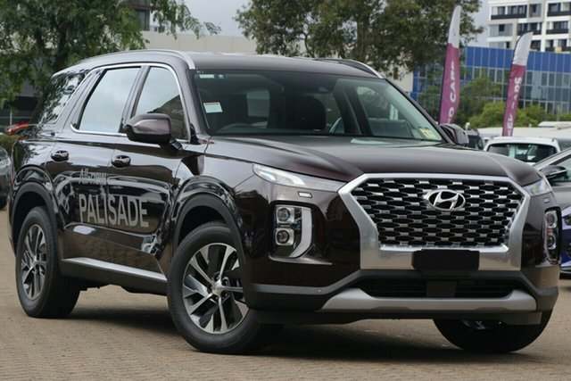 New Hyundai Palisade LX2.V1 MY21 AWD Elizabeth, 2020 Hyundai Palisade LX2.V1 MY21 AWD Black 8 Speed Sports Automatic Wagon