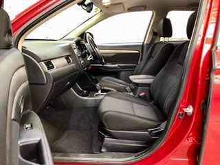 2016 Mitsubishi Outlander ZK MY16 XLS 2WD Red 6 Speed Constant Variable Wagon