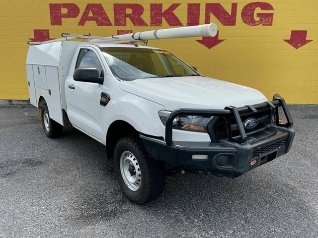 Used Ford Ranger PX MkII 2018.00MY XL Winnellie, 2017 Ford Ranger PX MkII 2018.00MY XL White 6 Speed Sports Automatic Cab Chassis