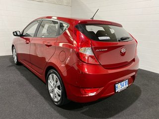2018 Hyundai Accent RB6 MY18 Sport Pulse Red/black Clot 6 Speed Manual Hatchback