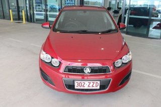 2014 Holden Barina TM MY14 CD Red 5 Speed Manual Hatchback.