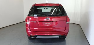 2011 Ford Territory SZ TS Seq Sport Shift Red 6 Speed Sports Automatic Wagon