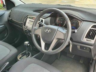 2014 Hyundai i20 Active White 4 Speed Automatic Hatchback.