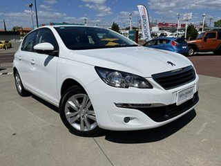 2016 Peugeot 308 T9 Update Active White 6 Speed Automatic Hatchback.